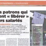ANTI-MANAGEMENT par Sophie PETERS dans La Tribune HEBDO