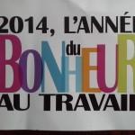 """Bonne année de la part du producteur du """"Bonheur au travail"""", documentaire qui sort chez A..."""