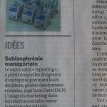 L'obsession du «reporting» crée l'inefficacité managériale: Notre opinion dans Le Monde, daté 9 mai