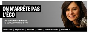 France Inter - On n'arrete pas l'eco