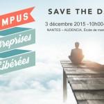 Campus des Entreprises Libérées, Nantes 3 Dec. 2015
