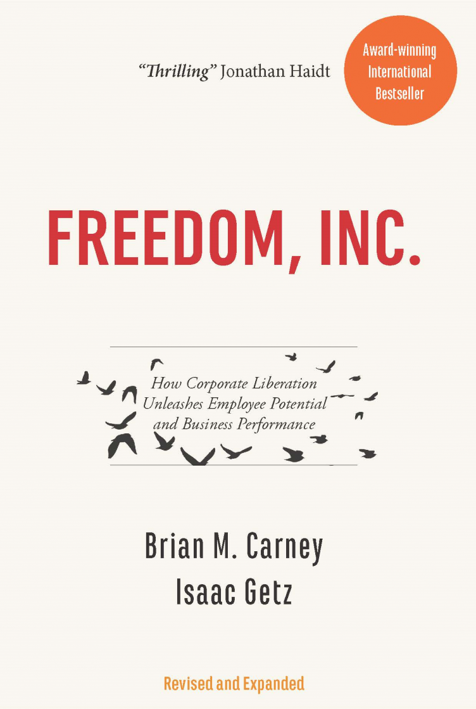 Nouvelle édition américaine de notre livre «Freedom, Inc.»