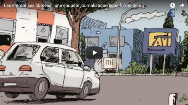 France 3 Picardie sur Agesys, la BD et les entreprises libérées