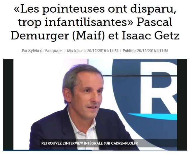Le Figaro parle de la libération de la MAIF
