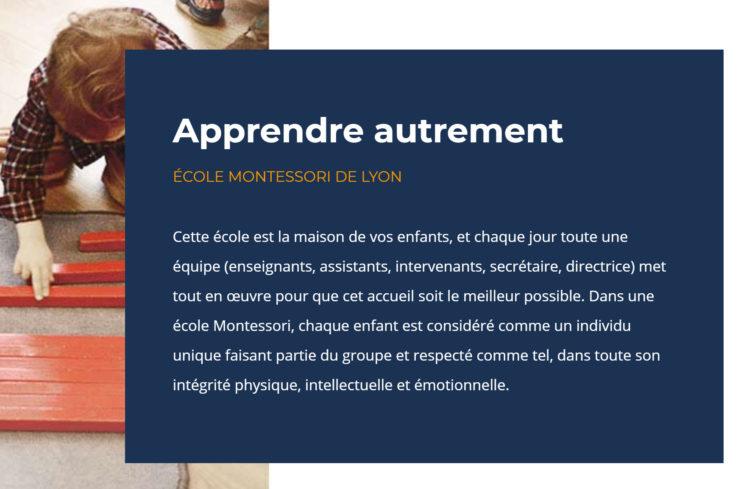 Les éducateurs et les directeurs libérateurs dans une école Montessori