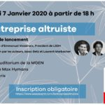 SAVE THE DATE : Soirée de lancement du livre L'entreprise altruiste
