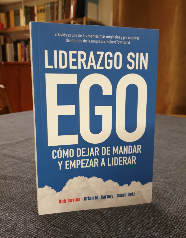 """L'edition espagnole de «Leadership sans ego» : """"LIDERAZGO SIN EGO"""""""